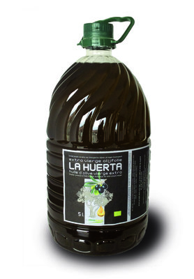 Olijfolie extra vierge LA HUERTA - bidon 5 liter - oogst 2017