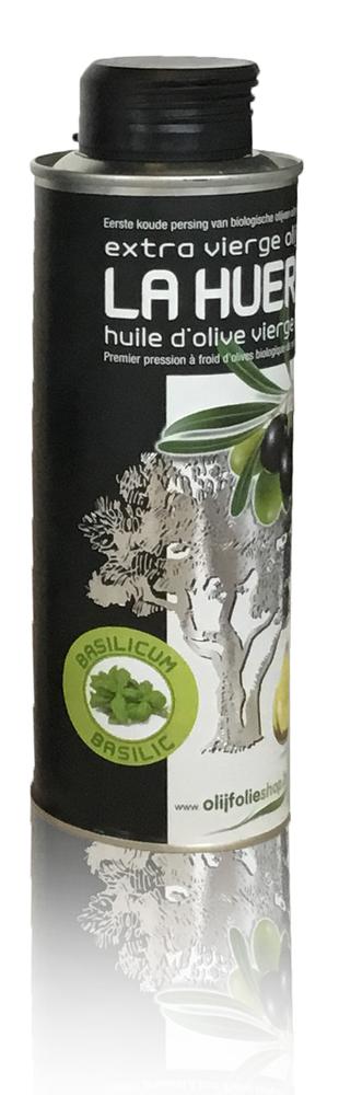 olijfolie extra vierge met basilicum