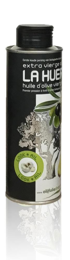 olijfolie extra vierge met look